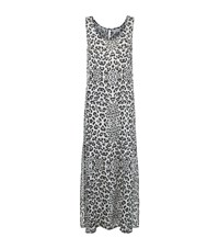 Lily And Lionel Leopard Print Maxi Dress Female Multi