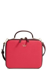 Kate Spade New York Cameron Street Casie Leather Satchel Red Spicy Sangria Multi