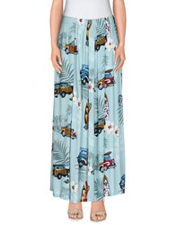 Aniye By Skirts Long Skirts Women Sky Blue