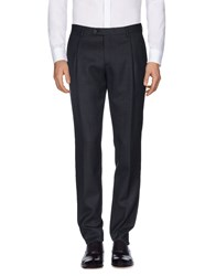 Faconnable Casual Pants Steel Grey