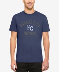 47 Brand '47 Men's Kansas City Royals Mixed Fieldhouse T Shirt Royalblue