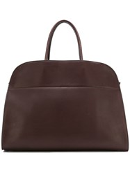 The Row Tasche Trench Big Tote Bag Brown