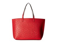 Echo Sunflower Laser Cut Essex Tote Punch Pink White Tote Handbags