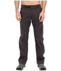 Prana Stretch Zion Pant Charcoal Casual Pants Gray