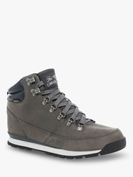 The North Face Back To Berkeley Redux Leather 'S Hiking Boots Zinc Grey Ebony Grey
