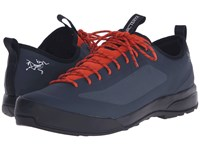 Arc'teryx Acrux Sl Approach Shoe Deep Dusk Arc Dark Flame Arc Men's Shoes Blue