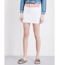 Maje Jodis Denim Skirt Multico