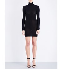 Wolford Buenenos Aires Stretch Jersey Dress Black