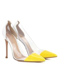 Gianvito Rossi Exclusive To Mytheresa.Com Plexi Patent Leather And Transparent Pumps Multicoloured