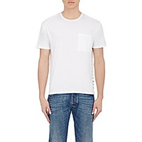 Valentino Men's Stud Embellished T Shirt White