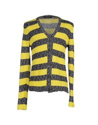 Bafy Knitwear Cardigans Men Yellow