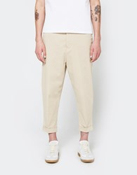 Ami Alexandre Mattiussi Oversized Carrot Fit Trousers Beige