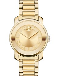 Movado 3600323 Bold Yellow Gold Ion Plated Stainless Steel Watch
