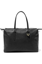 Rick Owens Woman Day Textured Leather Tote Black