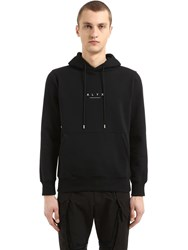 Alyx Logo Cotton Jersey Sweatshirt Hoodie Black