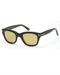 Tom Ford Snowdon Rectangular Acetate Sunglasses