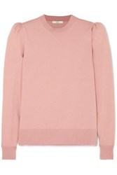 Co Merino Wool Sweater Pastel Pink