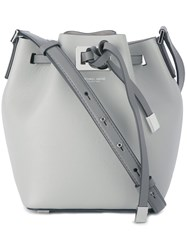 Michael Kors Small 'Miranda' Bucket Bag Grey