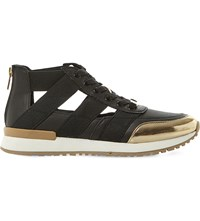 Steve Madden Trinity Cutout Trainers Black Synthetic