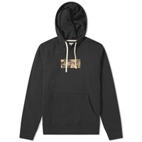 Saturdays Surf Nyc Ditch Peony Rectangle Hoody Black