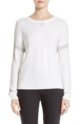 St. John Women's Collection Sequin Link Knit Sweater