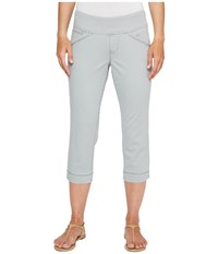 Jag Jeans Petite Marion Pull On Crop In Bay Twill Shadow Women's Casual Pants Brown