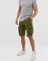 Superdry Core Cargo Shorts In Green