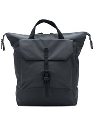 Ally Capellino Square Backpack Grey
