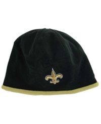 New Era New Orleans Saints Tech Knit Hat Black Old Gold