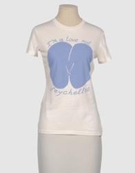 Worn Free Short Sleeve T Shirts Ivory
