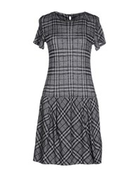 Bruno Manetti Dresses Short Dresses Women Grey