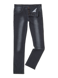 Label Lab Lock Skinny Leg Jean Black