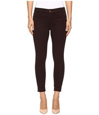 J Brand Anja Cuffed Crop In Snifter Snifter Women's Jeans Brown