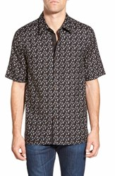 Men's Nat Nast 'Ritts' Regular Fit Short Sleeve Silk Sport Shirt