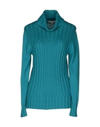 Gigue Long Sleeve Sweaters Light Green