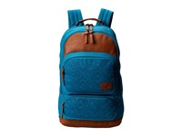 Volcom Deluxe Laptop Canvas Backpack Tidal Blue Backpack Bags