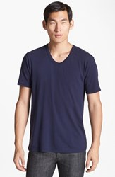 Men's T By Alexander Wang Classic Scoop Neck T Shirt White