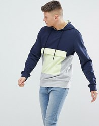 Another Influence Front Pocket Hoodie Navy
