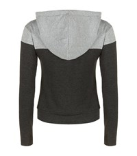 Homebody Colour Block Hooded Sweatshirt Female Grey