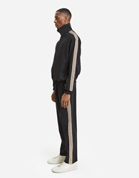 Cmmn Swdn Buck Trackpant In Black