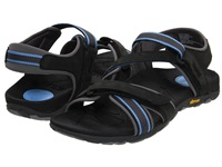 Vionic With Orthaheel Technology Muir Vionic Sport Recovery Adjustable Sandal Dark Charcoal Blue Women's Sandals Black