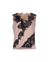 Moschino Cheap And Chic Moschino Cheapandchic Topwear Tops Women Skin Color