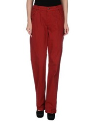 Xandres Casual Pants Brick Red