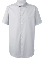 Pringle Of Scotland Shortsleeved Shirt Grey