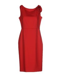 Valentino Techno Couture Dresses Knee Length Dresses Women Red