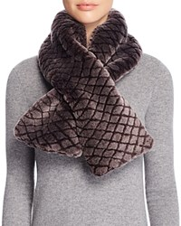 Ugg Australia Quilted Croft Scarf Chocolate