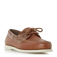 Howick Bridgeport Classic Boat Shoe Tan