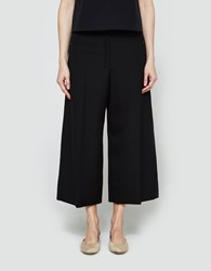 Christophe Lemaire Large Pants Crop In Black