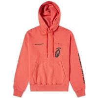 Off White Split Arrows Oversized Popover Hoody Red