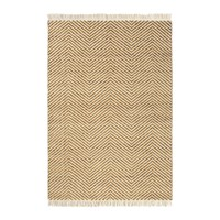 Brink And Campman Atelier Twill Rug 140X200cm Tan